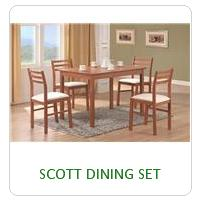 SCOTT DINING SET